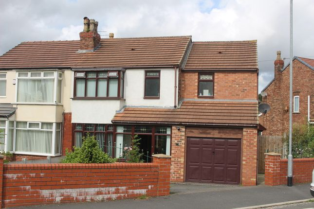 Thumbnail Semi-detached house for sale in Newlands Road, Haresfinch, St. Helens