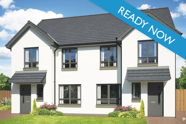 Semi-detached house for sale in Off Mannachie Road, Forres