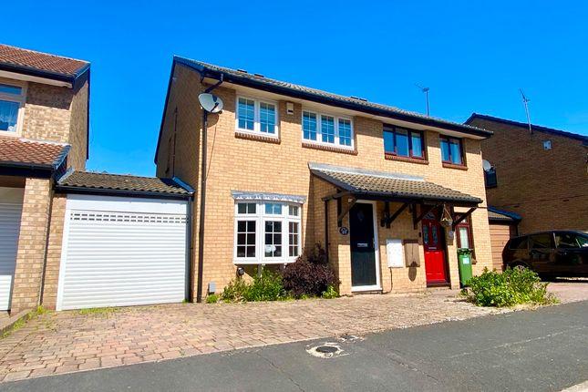 Semi-detached house for sale in Juniper Way, Harold Wood, Romford