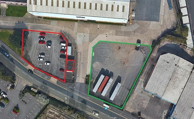 Thumbnail Land to let in Compound 2, Ocean Trade & Logistics Park, Dock Road, Wallasey, Merseyside