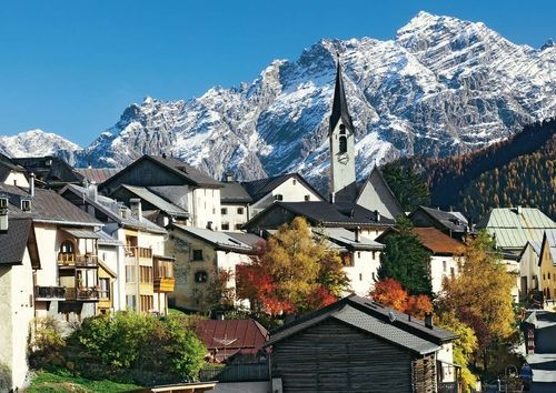 Image of Scuol - Lower Engadine, Grisons, Switzerland