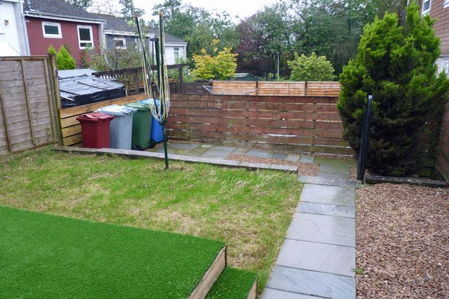 Rear Gardens of Larch Drive, Greenhills, East Kilbride G75