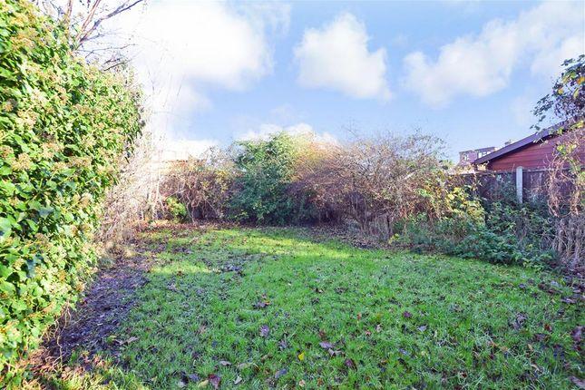 Rear Garden of Link Way, Hornchurch, Essex RM11
