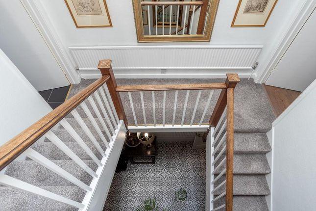 Stairs of High Street, Olney, Buckinghamshire MK46