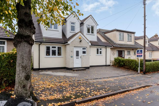 Thumbnail Detached house for sale in 21 Greenway, Romford, Essex