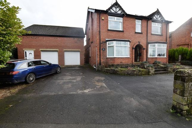 Thumbnail Detached house for sale in Newcastle Road, Congleton