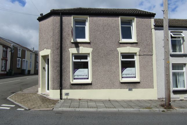 Thumbnail End terrace house to rent in John Street, Aberdare