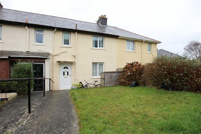 Thumbnail Terraced house for sale in Fourth Avenue, Penparcau, Aberystwyth
