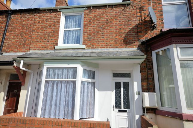 2 bed terraced house to rent in Roscoe Street, Scarborough YO12