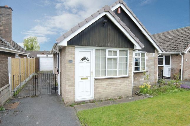 Thumbnail Detached bungalow for sale in East Bank Ride, Forsbrook, Stoke-On-Trent