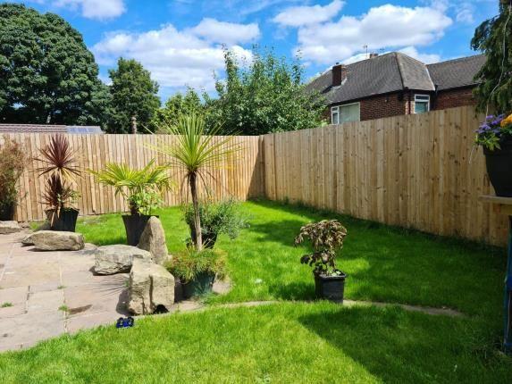 Garden of Martinscroft Road, Newall Green, Wythenshawe, Manchester M23