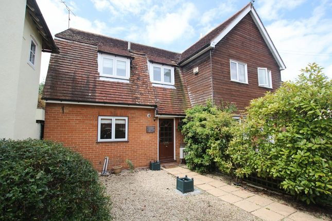Thumbnail End terrace house for sale in High Street, Barkway, Royston