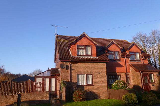 Thumbnail Semi-detached house to rent in Riverdale, Wrecclesham, Farnham