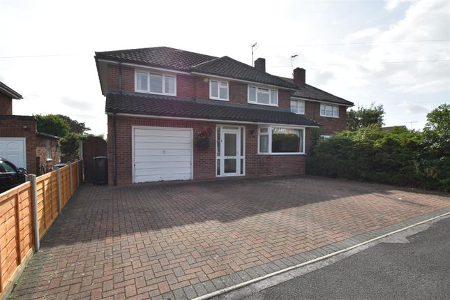 Thumbnail Semi-detached house for sale in Shirley Road, Droitwich