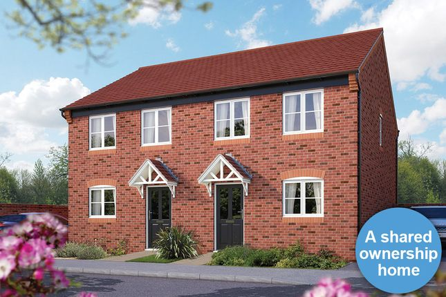 "Thumbnail Semi-detached house for sale in ""The Mondrem"" at Ash Road, Cuddington, Northwich"