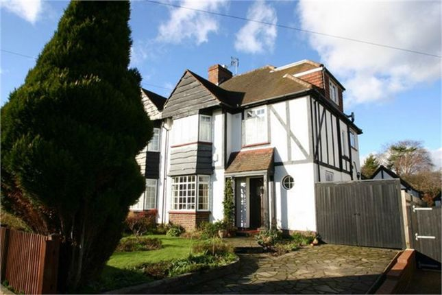 Thumbnail Semi-detached house to rent in West Way, Petts Wood, Orpington