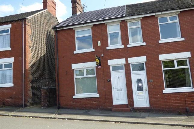 Thumbnail Semi-detached house for sale in George Street, Chesterton, Newcastle-Under-Lyme