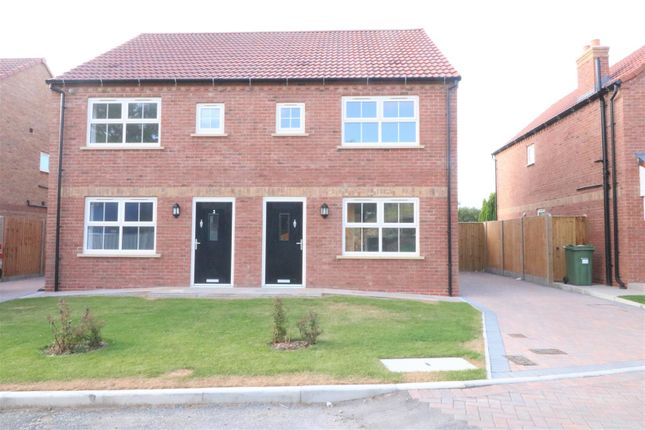 Thumbnail Semi-detached house for sale in Ferryman Close, Ferry Road, Wawne