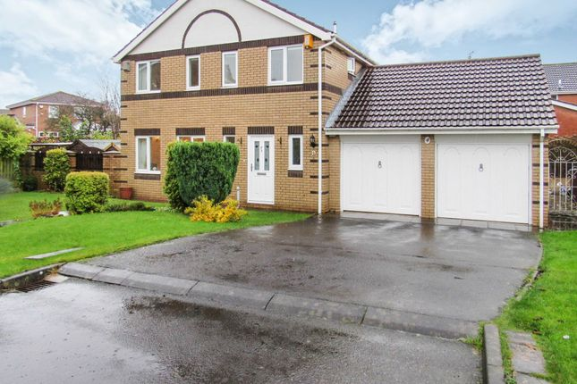 Thumbnail Detached house for sale in Carmel Grove, Cramlington