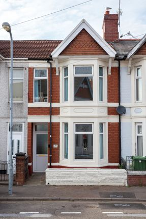 Thumbnail Property to rent in Gelligaer Street, Cathays, Cardiff