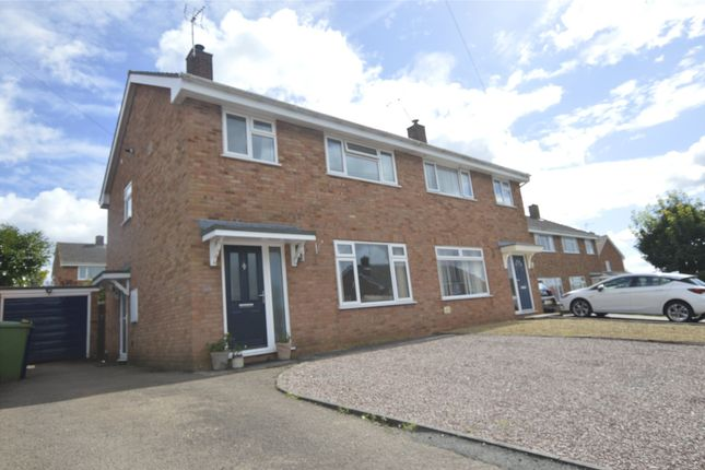 Thumbnail Semi-detached house for sale in Hillview Lane, Twyning, Tewkesbury, Gloucestershire