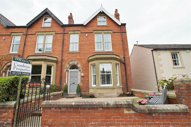 Thumbnail End terrace house for sale in Wetheral, Carlisle, Cumbria