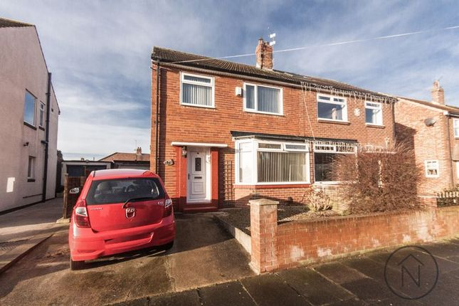 3 bed semi-detached house for sale in Queens Drive, Billingham