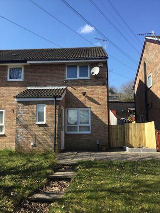 Thumbnail Terraced house to rent in Denbigh Crescent, Ynysforgan, Swansea