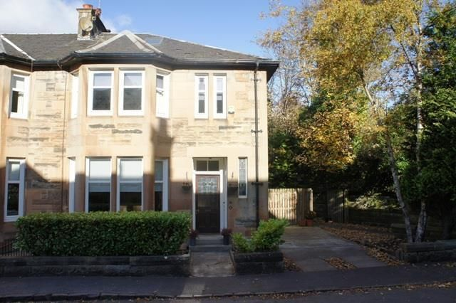 Thumbnail End terrace house to rent in Orchard Park, Giffnock, Glasgow