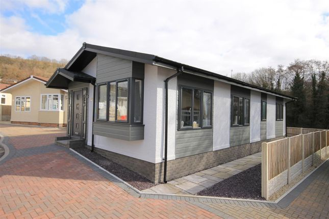 Thumbnail Detached bungalow for sale in Pont Pentre Caravan Park, Upper Boat, Pontypridd