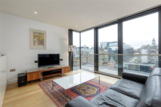 Thumbnail Flat for sale in Simpson Loan, Quartermile, Edinburgh