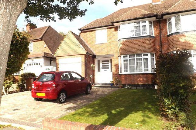 Thumbnail Semi-detached house for sale in Chestnut Avenue, Canons Park, Edgware