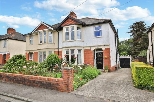 Thumbnail Semi-detached house for sale in Heathwood Grove, Heath, Cardiff