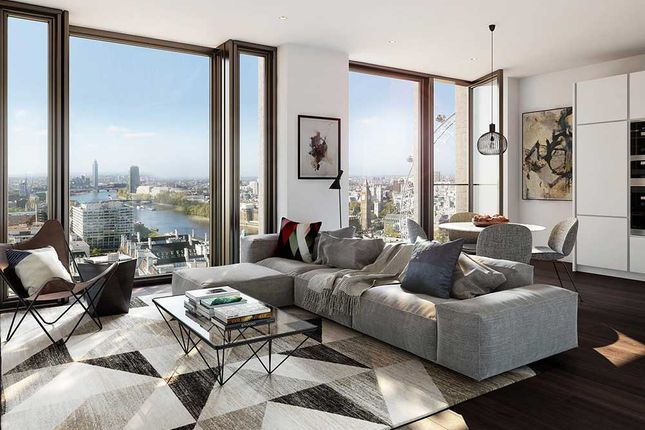 Thumbnail Flat for sale in 8 Casson Square, South Bank Place, London