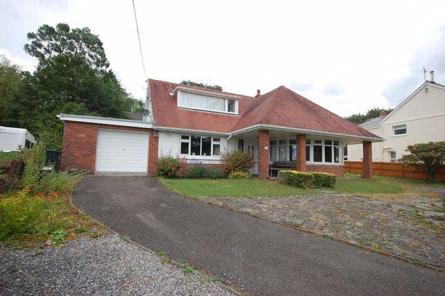 Thumbnail Detached bungalow for sale in Clyngwyn Road, Ystalyfera, Swansea