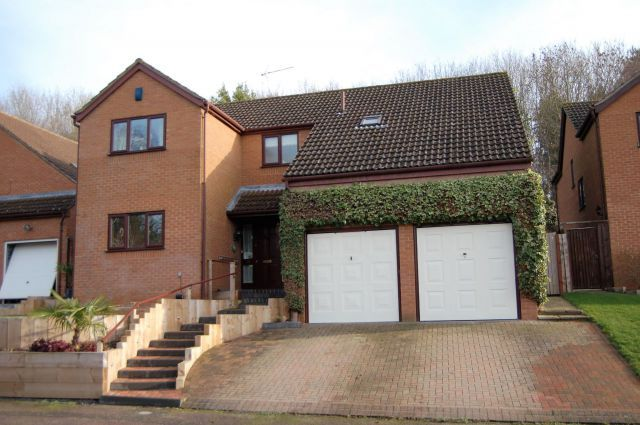 Thumbnail Detached house for sale in Tall Trees, West Hunsbury, Northampton