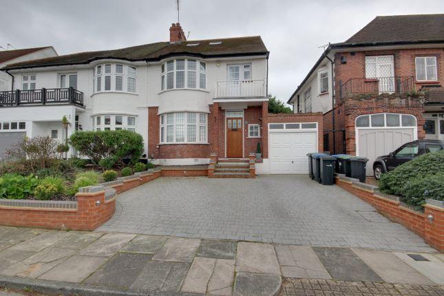 Thumbnail Semi-detached house for sale in Ridings Avenue, Grange Park