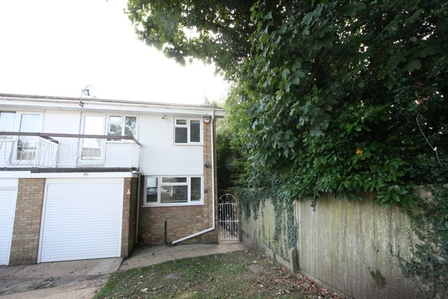 Thumbnail Semi-detached house to rent in Knoll Crescent, Northwood