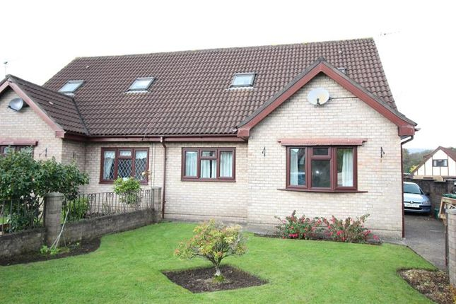 Thumbnail Semi-detached bungalow to rent in Heol Y Gors, Caerphilly