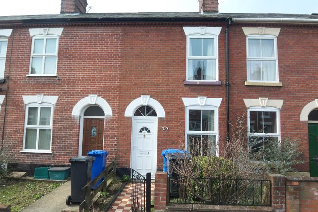 Thumbnail Terraced house to rent in Carshalton Road, Norwich