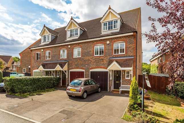 Thumbnail Semi-detached house for sale in Sandpiper Road, Cheam, Sutton