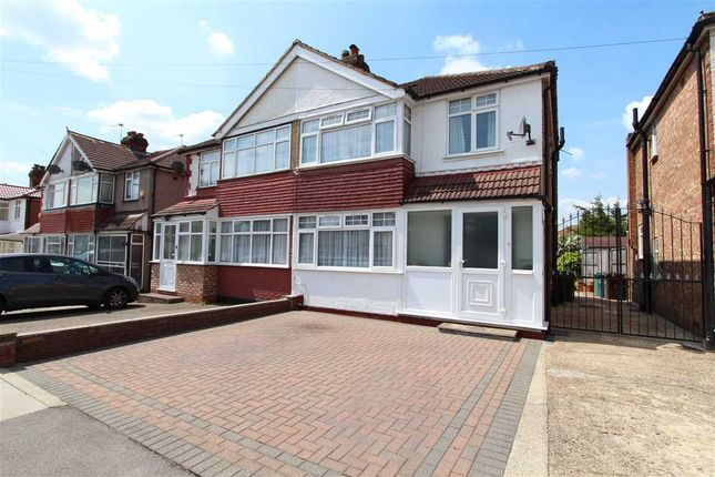 Thumbnail Semi-detached house to rent in Culver Grove, Stanmore