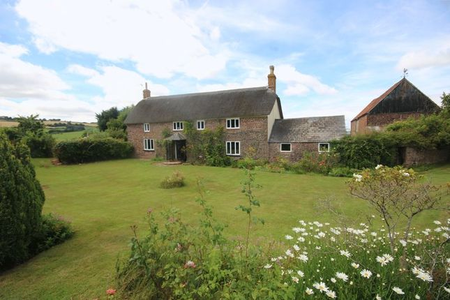 Thumbnail Farmhouse to rent in Lydeard St. Lawrence, Taunton