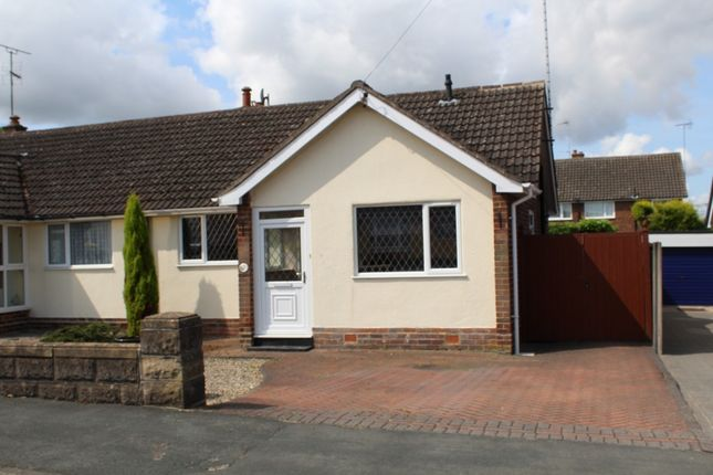 Thumbnail Bungalow to rent in Marlborough Crescent, Burton-On-Trent