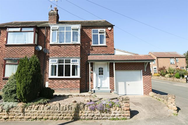 Thumbnail Semi-detached house for sale in Ingram Road, Bulwell, Nottingham