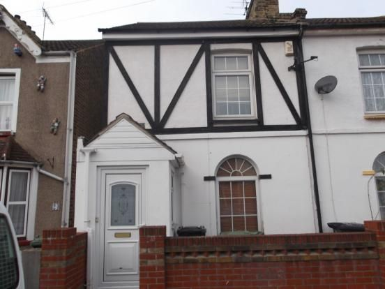 Thumbnail 2 bed end terrace house to rent in Eglinton Road, Swanscombe
