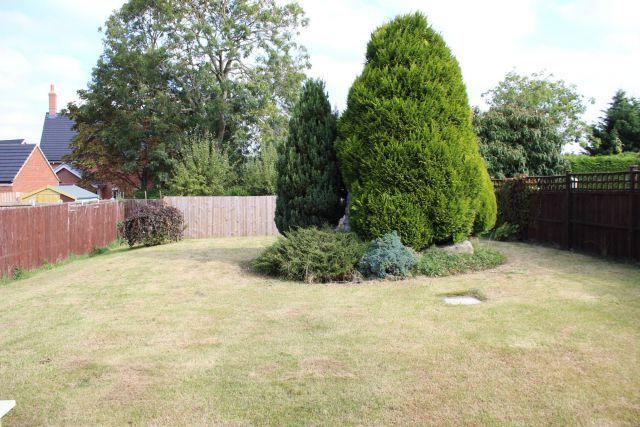 Rear Garden of Southcourt, Moulton, Northampton NN3