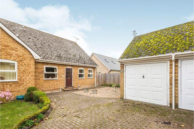 Thumbnail Semi-detached bungalow for sale in Pightle Close, Royston