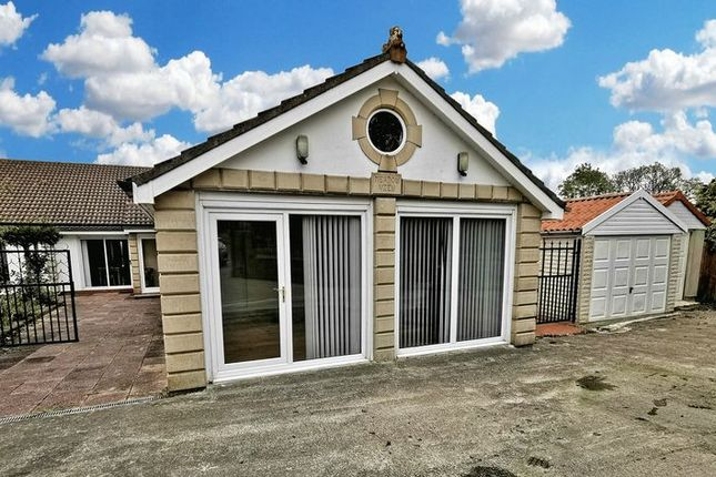 Thumbnail 4 bed detached bungalow for sale in Prestwick, Newcastle Upon Tyne