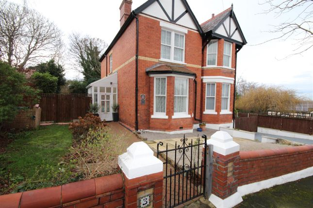 Thumbnail Property for sale in Queens Park, Colwyn Bay
